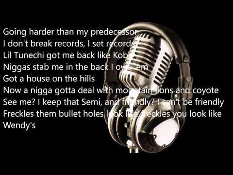 Lil Wayne- Trap House - Lyrics