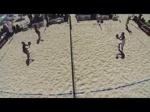 Mens Open Doubles Finals - BEACH TENNIS IFBT USA - 2013 Frank Congemi Beach Tennis World Cup