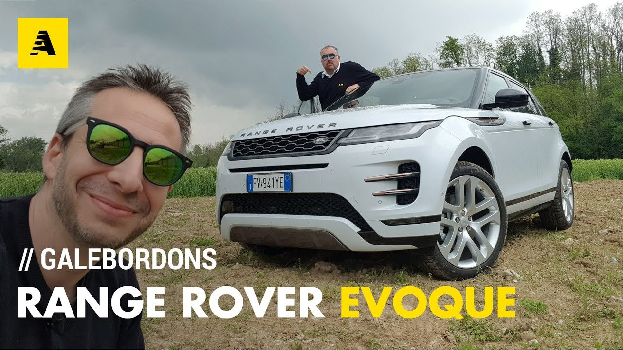Range Rover Evoque   La mini Velar su strada e offroad