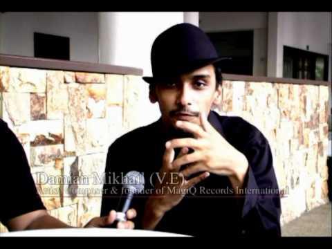 "Damian MIkhail V.E Interview ""Terima Kasih Cinta"""