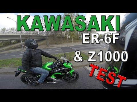 KAWASAKI ER-6F & Z1000 TEST 2016 | Gutes Einsteigermotorrad