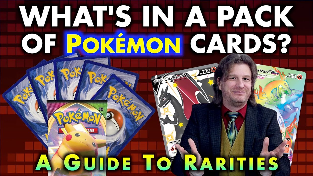 What's In A Pack Of Pokémon Cards? A Guide To TCG Rarities