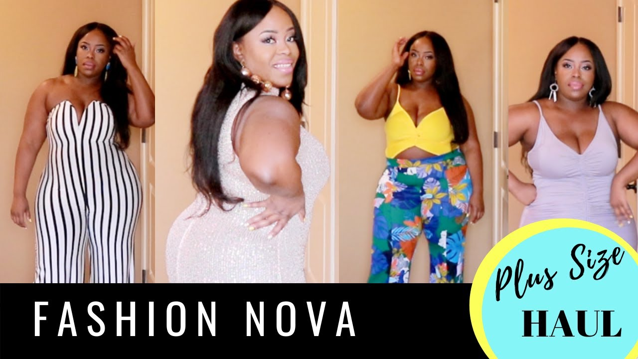 SLAY!!  | FASHION NOVA HAUL  | TRY ON HAUL | CURVY PLUS SIZE | SPRING SUMMER 2019