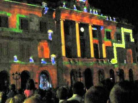 barcelona merce 2011 light projections pl jaume youtube