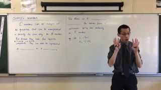 Complex Numbers as Points (1 of 4: Geometric Meaning of Addition)