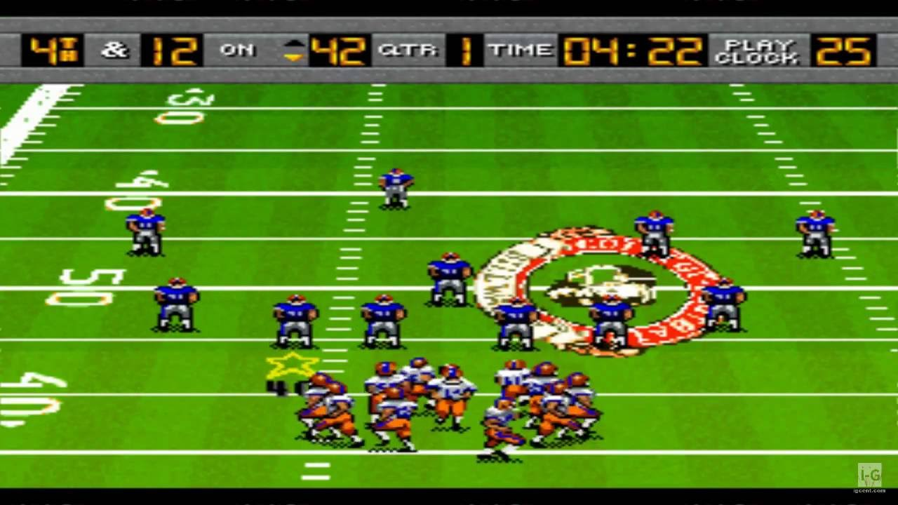 Bill Walsh College Football Snes Gameplay Hd Youtube