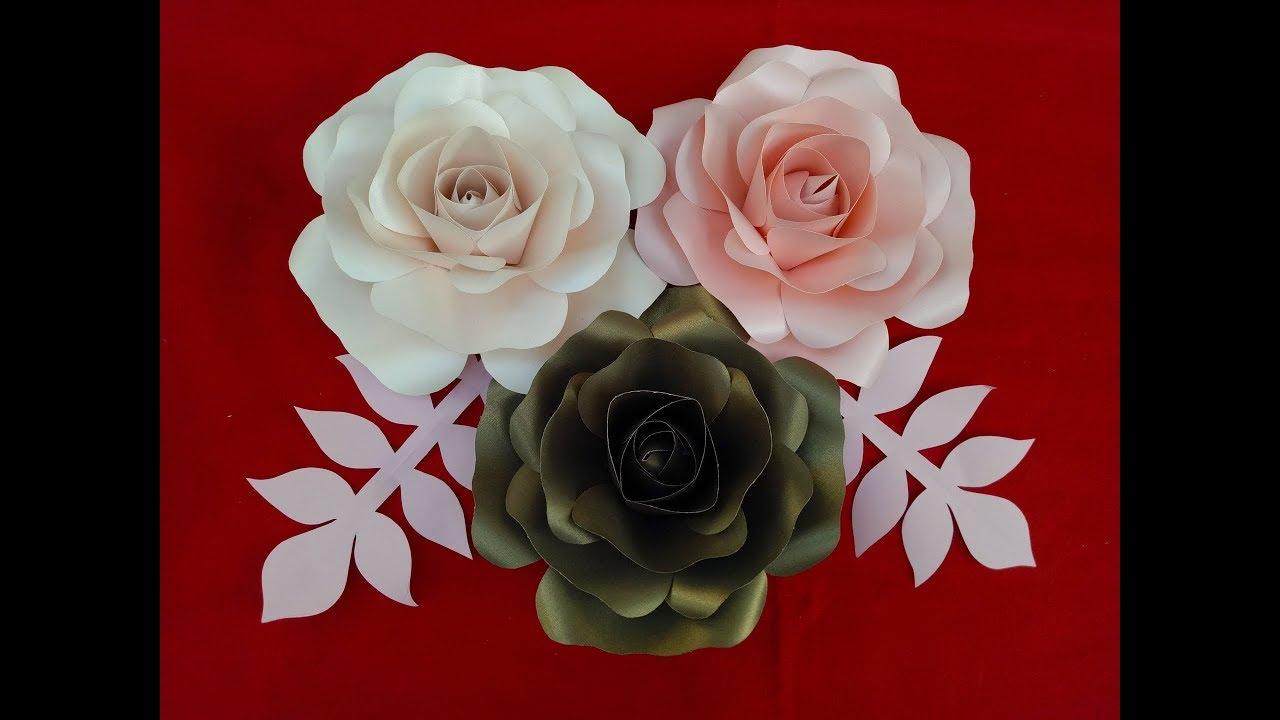 Diy Paper Flower Cara Membuat Bunga Dari Kertas Jasmin Part 4 Youtube
