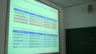 Kontextsensitive Sprachen ☆ Informatik Vorlesung