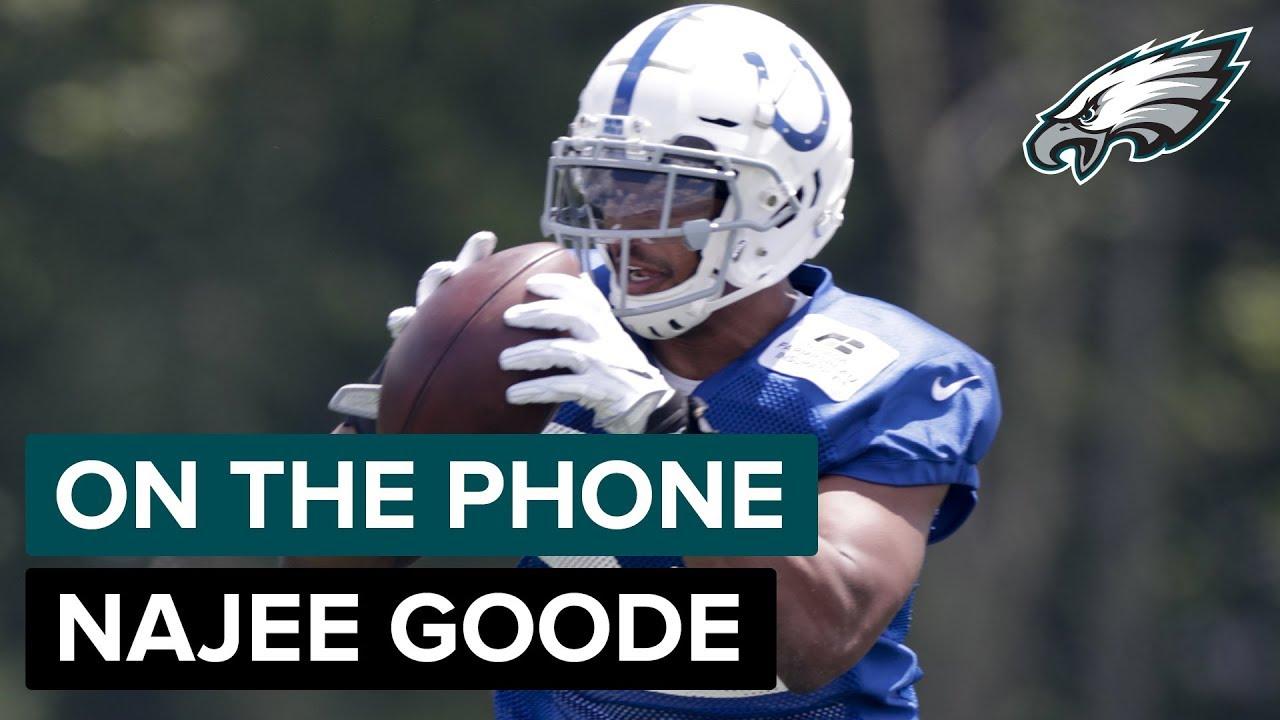 promo code 5e221 e4f8c On The Phone: Colts LB Najee Goode | Philadelphia Eagles