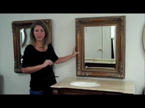 How To Choose The Perfect Sized Vanity Mirror To Go With Your Bath Vanity