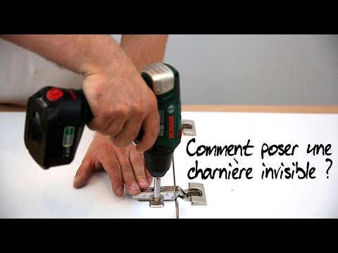 Comment poser une charni re invisible youtube - Comment poser des charnieres de porte ...