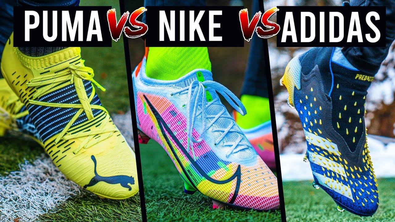 adidas vs puma vs nike