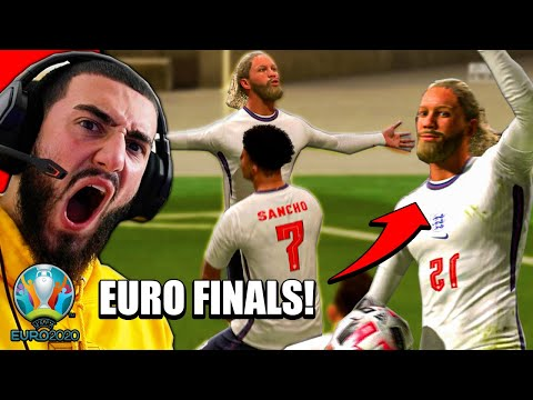 ANGZO GREALISH LEADS ENGLAND TO THE EURO 2020 FINALS!🔥- FIFA CAREER MODE #46  