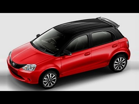 Toyota etios liva limited edition launched with red accents.