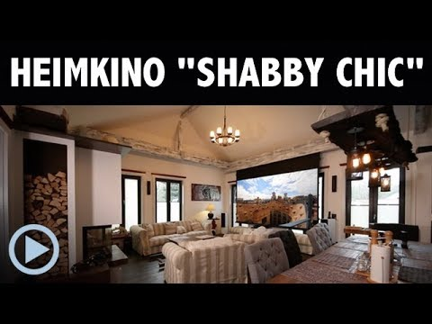 heimkino shabby chic made by heimkinoraum berlin youtube. Black Bedroom Furniture Sets. Home Design Ideas