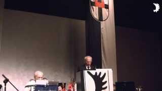 Eröffnung des Neidenburger Hauptkreistreffens 2013 in Bochum durch Kreisvertreter Jürgen Szepanek