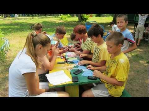 Детский  лагерь Салют,  2012  год