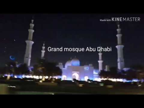 Grand Mosque | Abu Dhabi Mosque | UAE Mosque | Sheikh Zayed Mosque | Largest Mosque UAE | Tamil