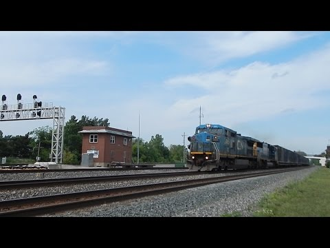 Railfaning Norfolk Southern and CSX In Berea and Alliance, Ohio, with some special visits!