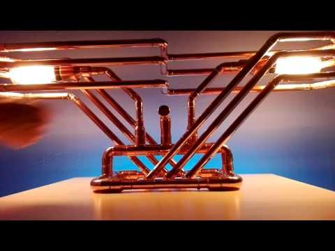 Copper Table Lamp - Venice