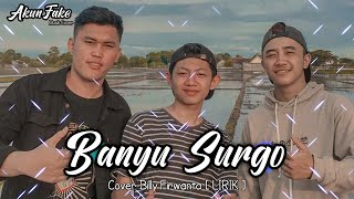 Download Banyu Surgo X Pelangi Baruku - Cover Billy Firwanta
