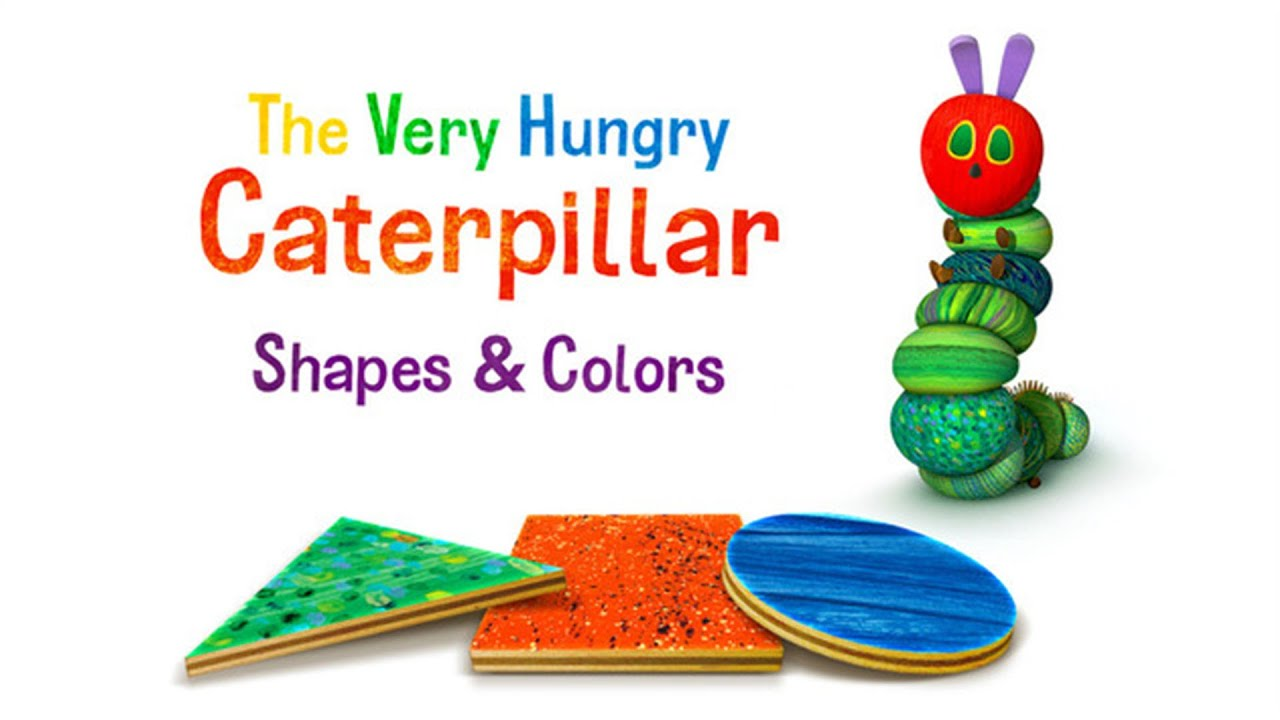 the very hungry caterpillar u2013 shapes u0026 colors storytoys