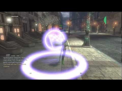DCUO : Tap Room Introductory Flight Race : Platinum Achieved!