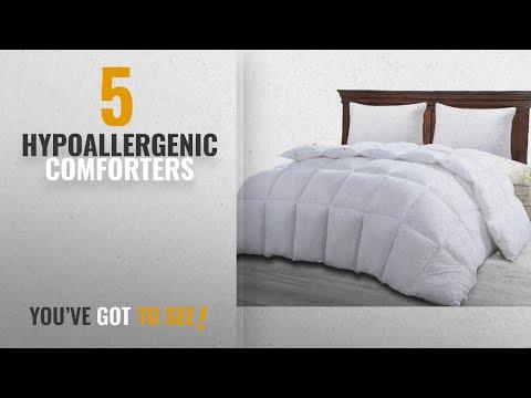 Top 10 Hypoallergenic Comforters [2018]: Utopia Bedding Ultra Plush Hypoallergenic, Siliconized