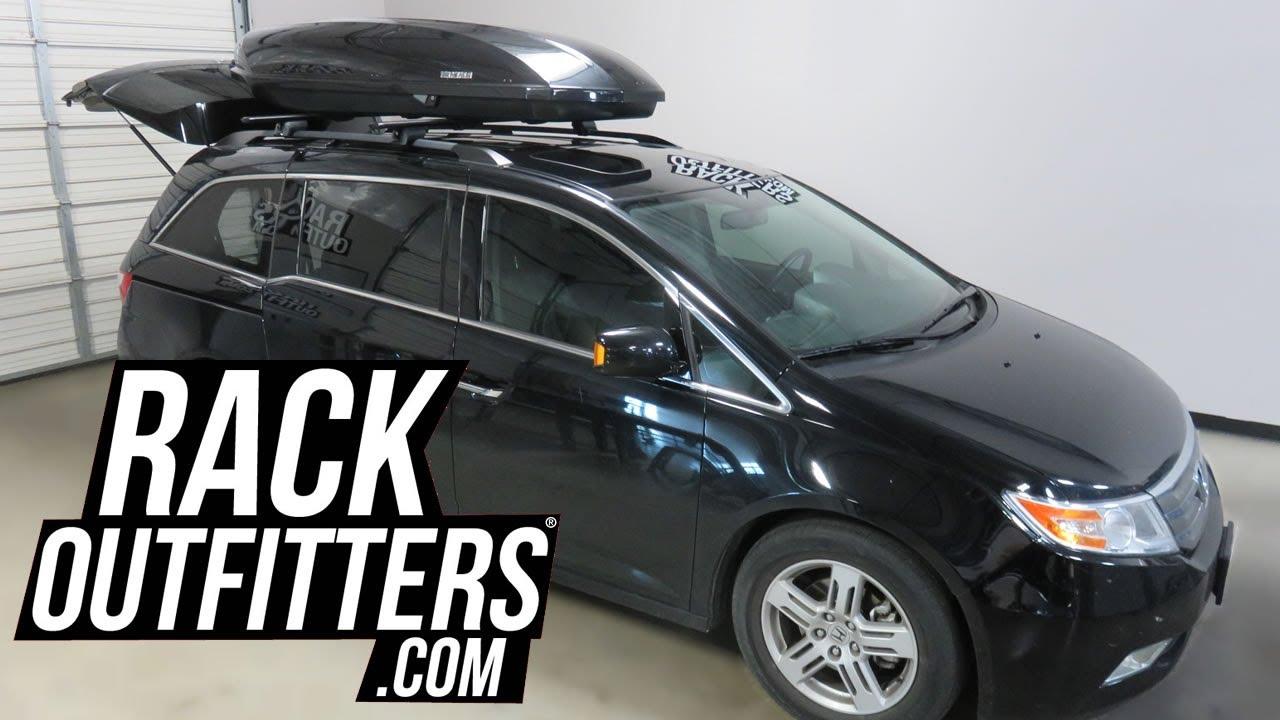 Honda Odyssey With Yakima ShowCase 20CF Roof Top Cargo Box