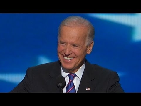 Joe Biden DNC Speech Complete: Job Is