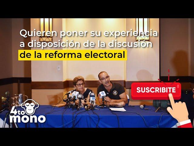 Entrevista: EyT solicitará a Asamblea Nacional participar en el proceso de reforma electoral