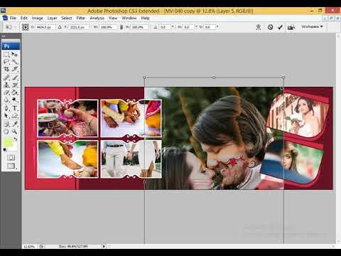 Auto Album Design In Photoshop | Multitalent Video thumbnail