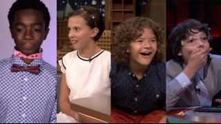 Stranger Things cast - Funny/cute moments