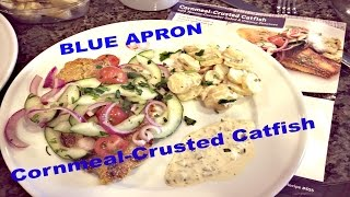 Blue Apron | Cornmeal Crusted Catfish | Week Of July 6, 2015