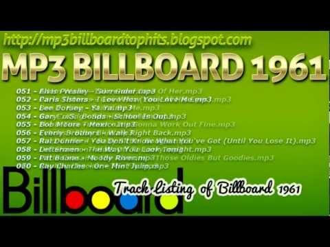 mp3 BILLBOARD 1961 TOP Hits mp3 BILLBOARD 1961
