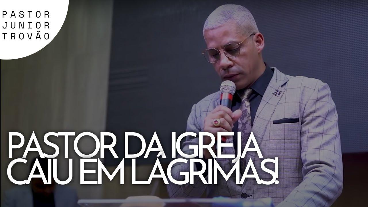 CHAMARAM JESUS DE BÊBADO - Pastor Junior Trovão