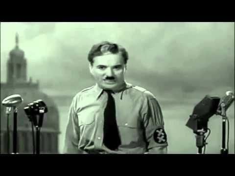 Charlie Chaplin  - Discours - Le Dictateur - VF - francais