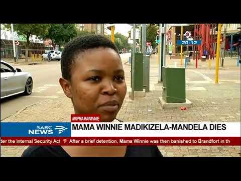 Pretoria residents react to Mama Winnie's death