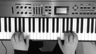 """Säestä pianolla """"Hetken tie on kevyt"""" (Laura Närhen versio)"""