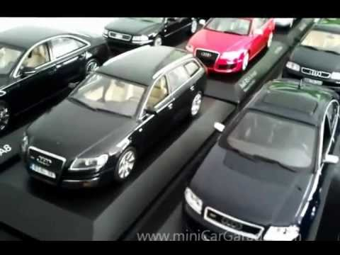 Audi Collection MiniCarGarage YouTube - Audi collection