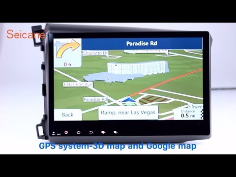 10 2 Inch HD Touch Screen 2012 Honda Civic LHD Radio GPS Stereo Removal With USB 1080P Video
