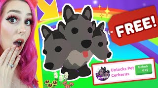 How To Get A FREE Cerberus In Adopt Me! Roblox Adopt Me HALLOWEEN Update
