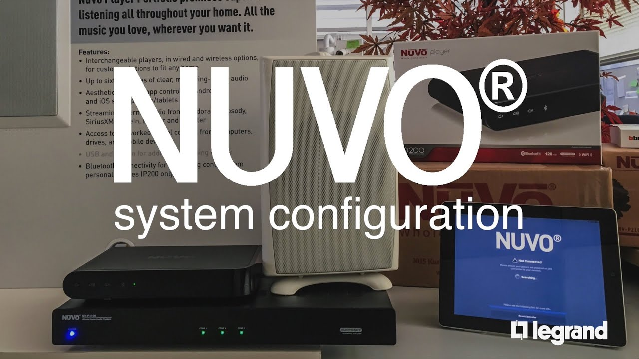 hight resolution of nuvo system configuration