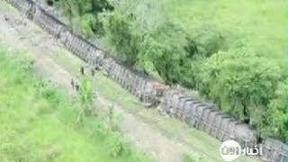 مقتل 5 أشخاص في تحطم قطار بمنطقة نائية في المكسيك