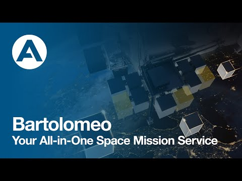 Bartolomeo, Your All-in-One Space Mission Service