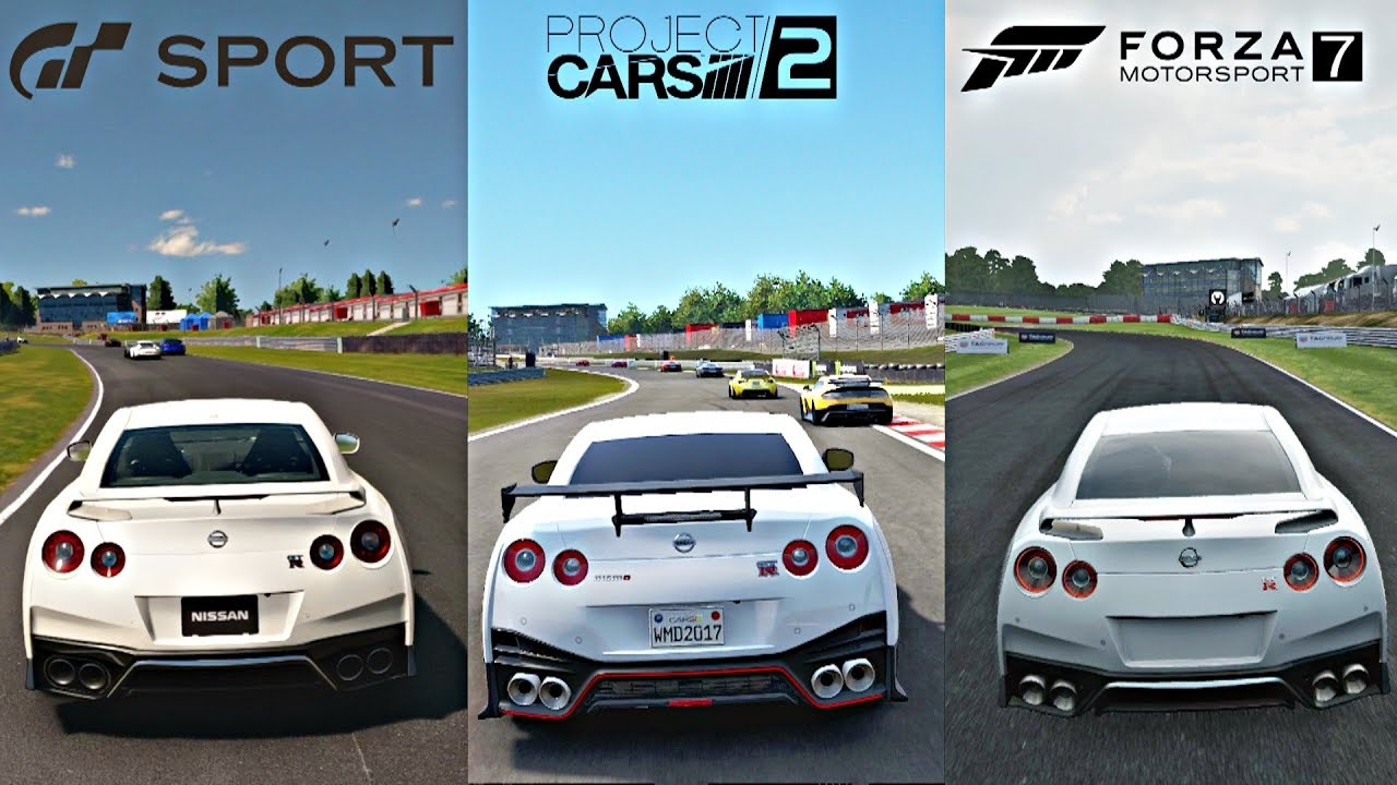 gran turismo sport vs project cars 2 vs forza 7 4k graphics gameplay comparison youtube. Black Bedroom Furniture Sets. Home Design Ideas