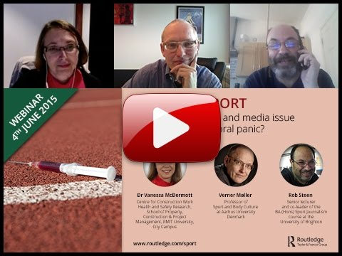 Drugs in Sport Webinar - Is Doping an ethical and media issue that is causing a moral panic?