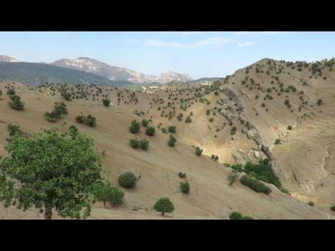 Panarama view from the Zagros mountain (Iran