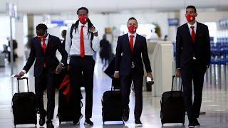 Η πτήση του Ολυμπιακού για την Αγγλία! / Olympiacos' flight to England!
