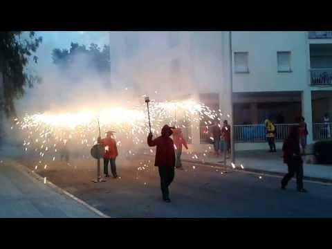 Diables d'Igualada al Coet de Vilafranca del P.